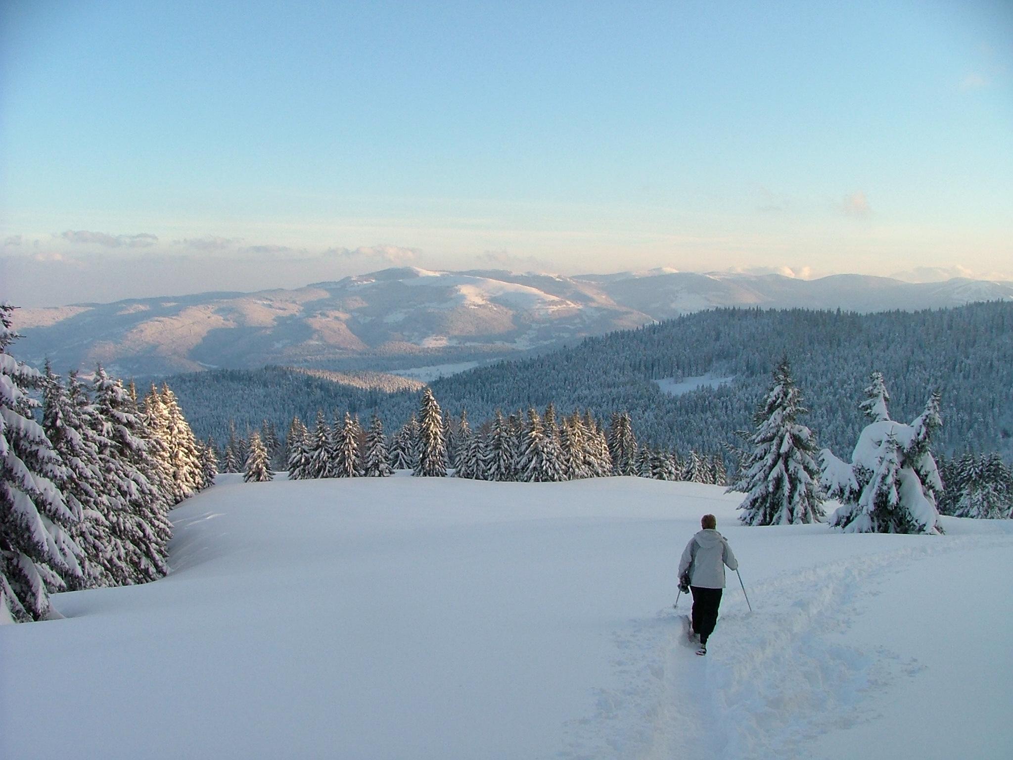Passer les vacances d'hiver dans les Vosges