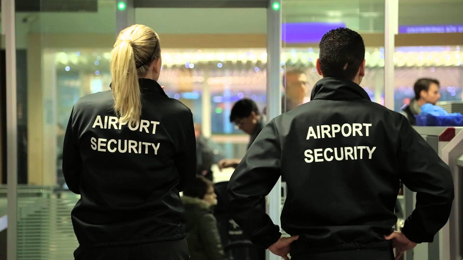 La sécurité dans les aéroports