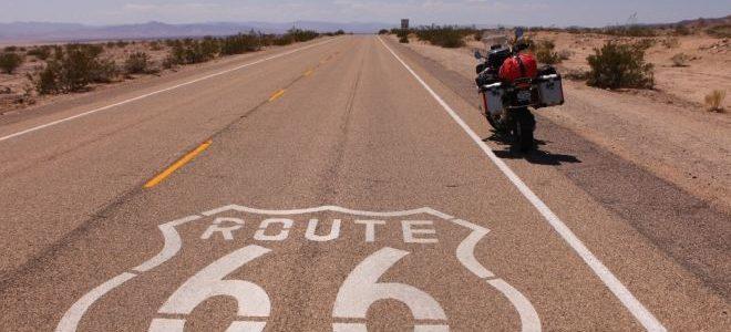 Road-trip à moto sur la route 66