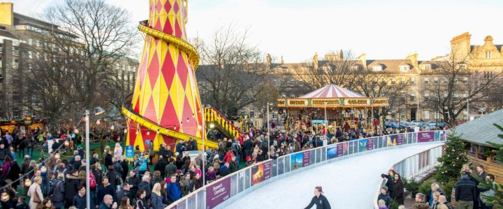 Passez Noël à Edimbourg, en Ecosse